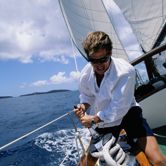 Steady winds and warm temperatures typify Caribbean sailing