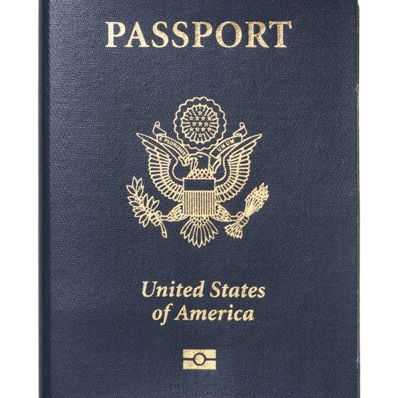 Find the expiration date next to your picture inside the passport.