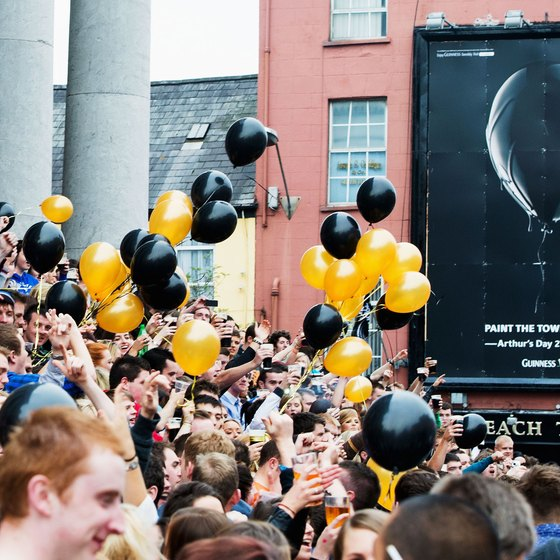 The Arthur's Day celebration in Cork commemorates iconic brewer Arthur Guinness.