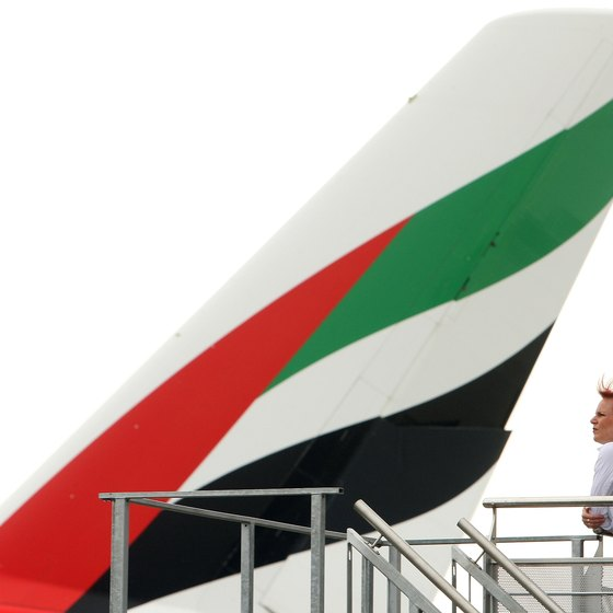 Emirates Airlines operates out of Dubai.