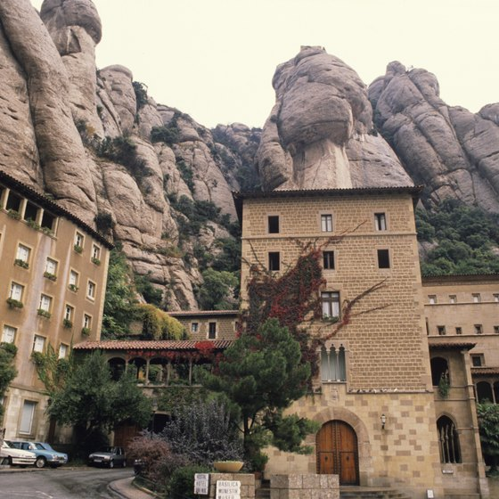 Montserrat is an easy day trip from Barcelona.