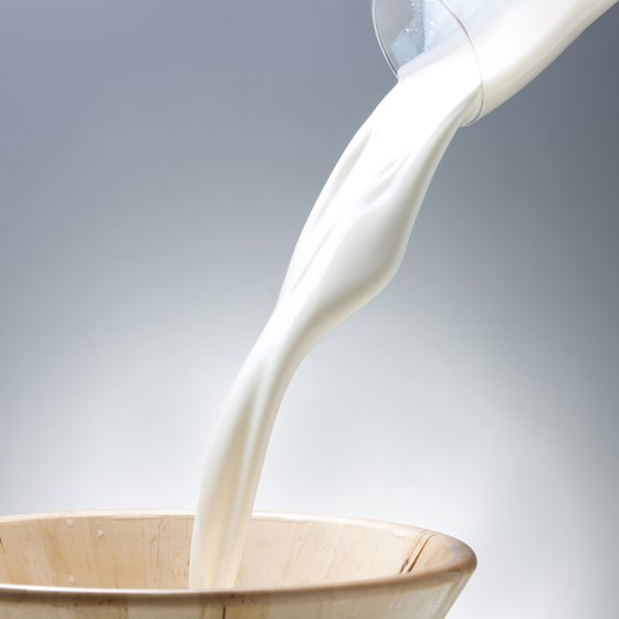 Choose low- or nonfat milk if you have gout.