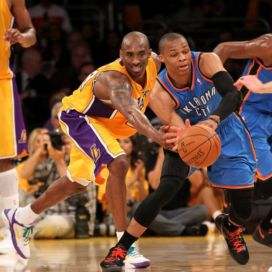 Stealing the ball often leads to an easy layup.