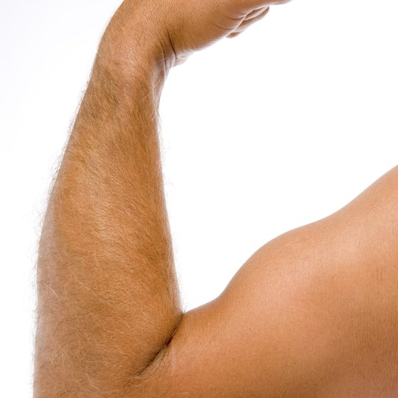 Add strength and lean muscle to your arms with an arm workout.