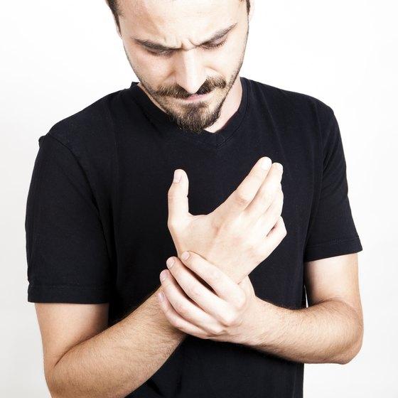 Gout pain.
