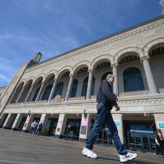 The Miss America Pageant returned to Boardwalk Hall in 2013.