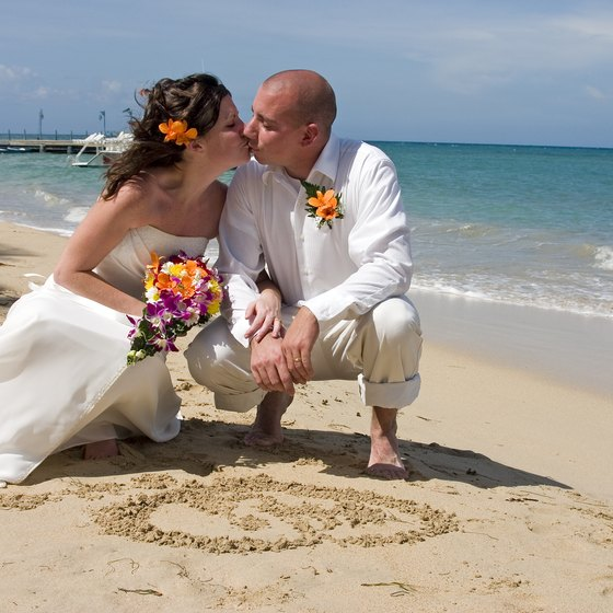 Leave the details such as flowers and cake up to a hotel wedding planner in Jamaica.