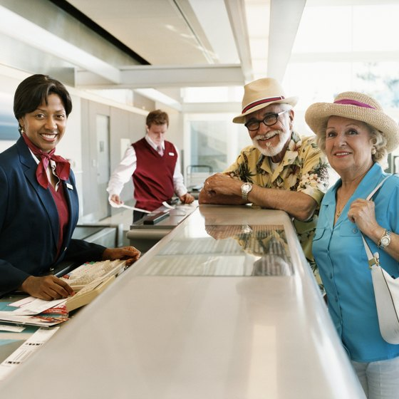 Discuss special needs for your flight with an agent before boarding.