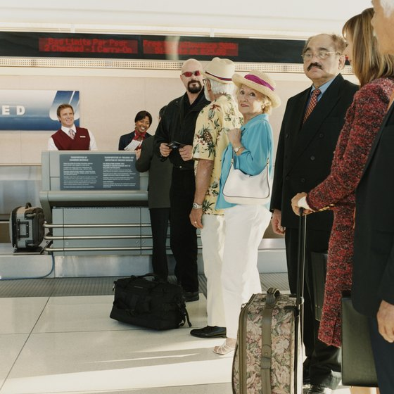 Standby passengers should resist the temptation to lay siege to the check-in desk.
