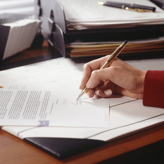 Your signature may represent your corporation on correspondence.