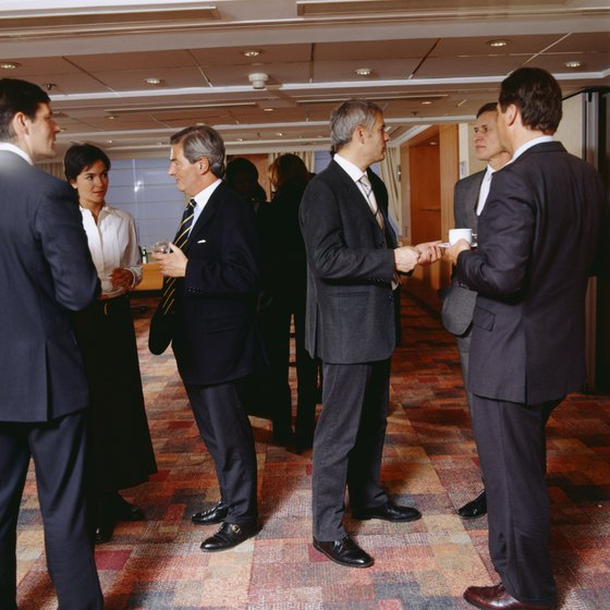 Give participants an opportunity to get to know each other before starting a business meeting.