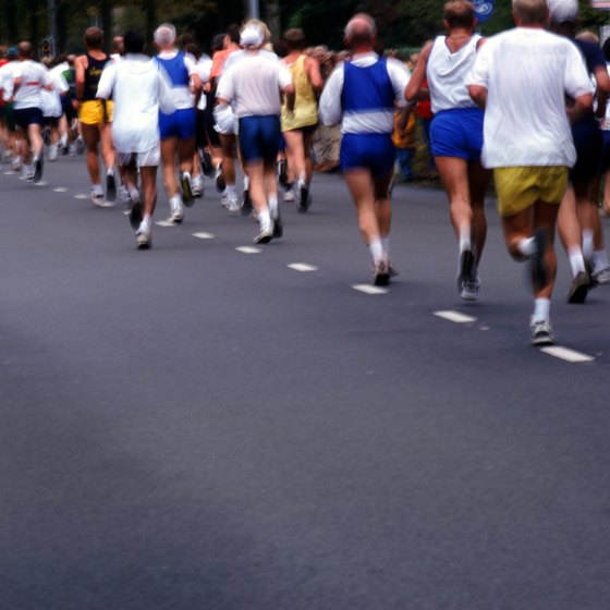 Amino acids can fuel your muscles during a marathon.