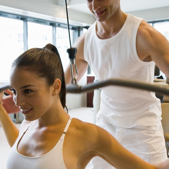 Ten minutes with your trainer can burn as many as 250 calories.