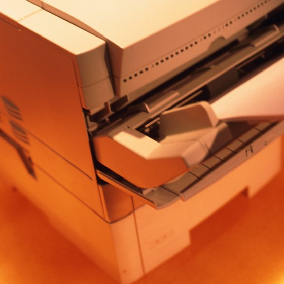 Many things can cause a laser printer to print unwanted lines.