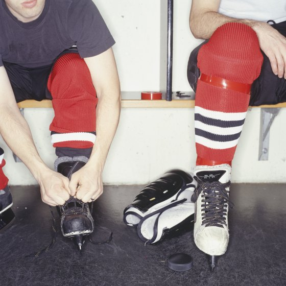 When properly tied, your foot shouldn't be able to move inside the skate.