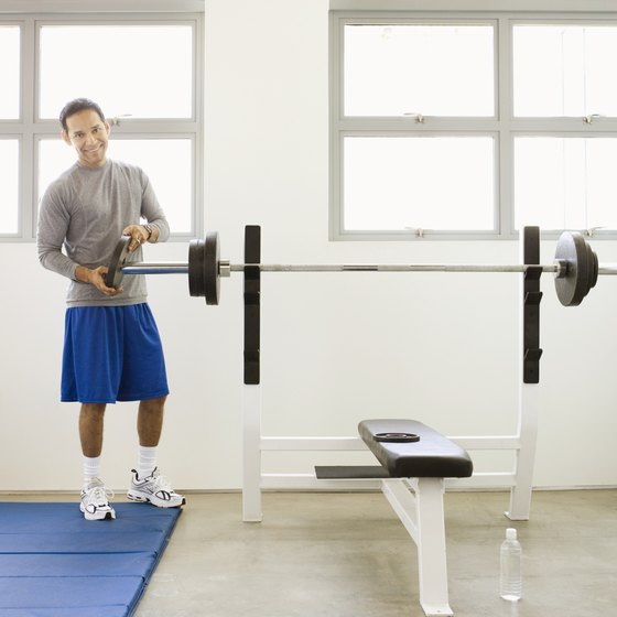 The bench press is an excellent exercise for increasing muscle density.