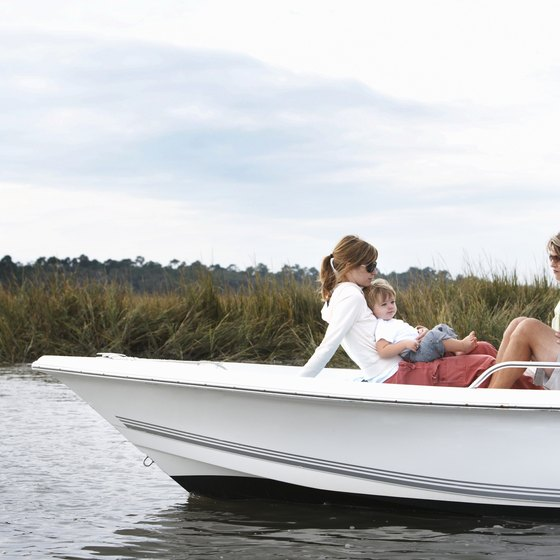 Know the passenger capacity of your boat.