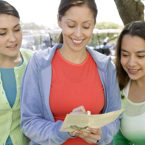 Women purchase 80 percent of all greeting cards, according to the Greeting Card Association.