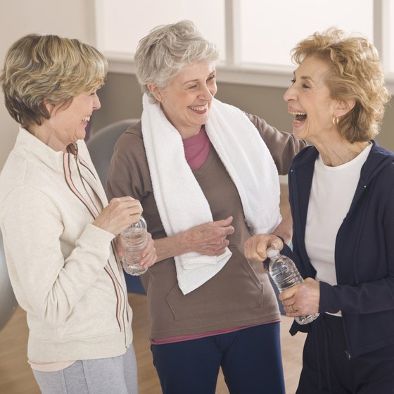 Exercise helps seniors maintain mobility and decrease health risks.
