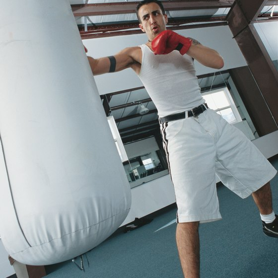 The power behind punches and kicks comes from your abs.