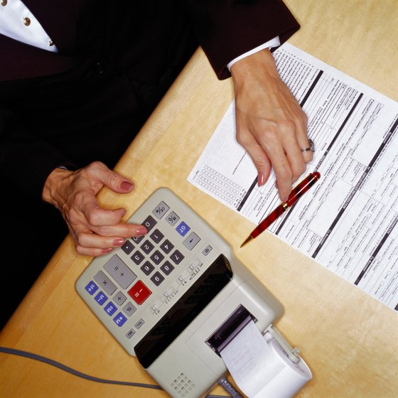 Accounting firms specialize in a variety of financial tasks.