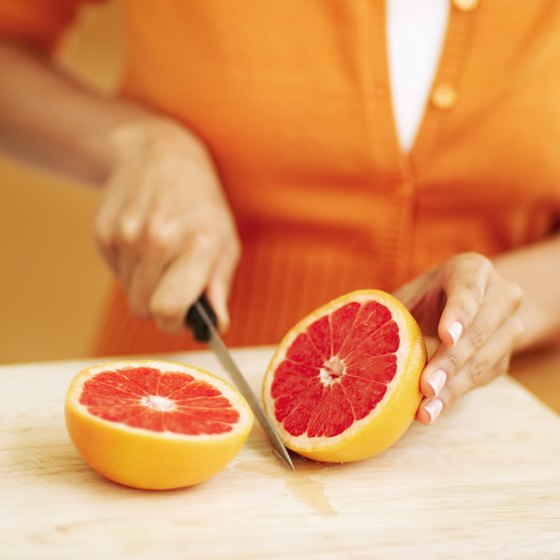 Load up on vitamin C with a tasty, tart grapefruit.