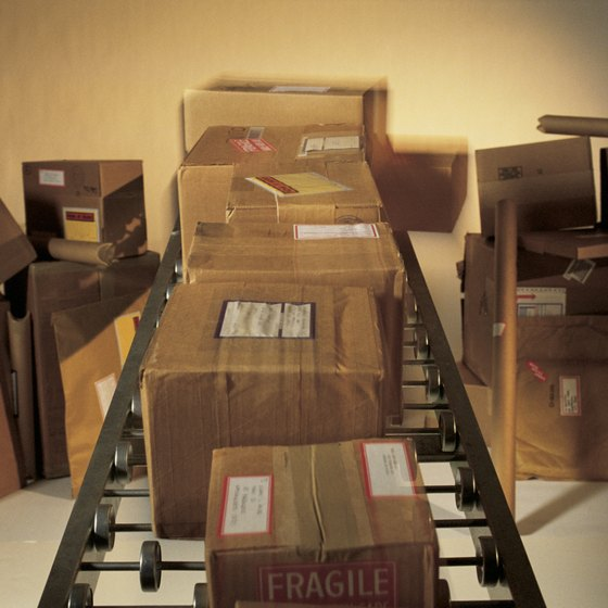 Use taxes are assessed to items shipped from out-of-state retailers.