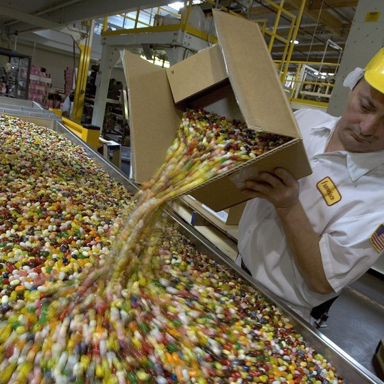 One of Fairfield's top attractions is an up-close tour of the Jelly Belly Candy Company.