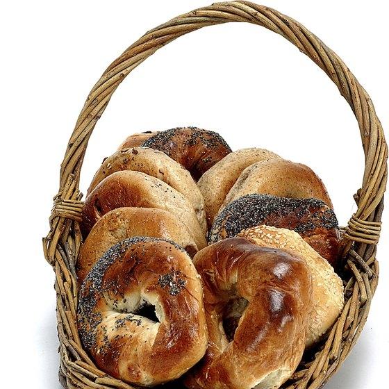 Whole-grain bagels have a complex flavor.