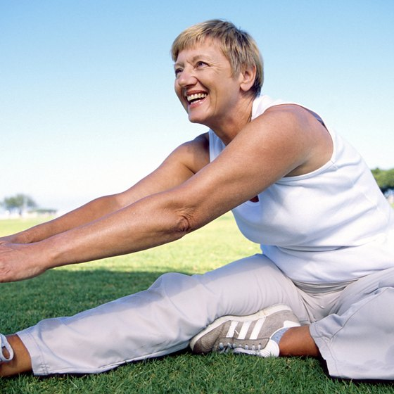 Women over 60 can reap multiple benefits by performing leg exercises twice a week.