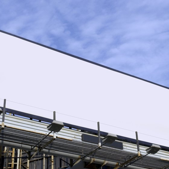 Billboards are a commonly used outdoor medium.
