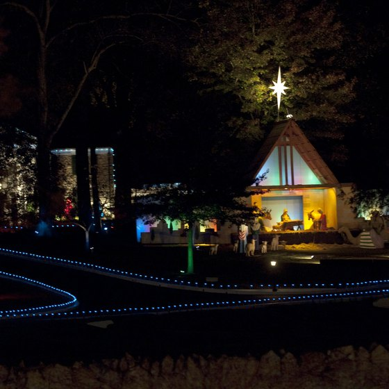 Graceland is especially beautiful at Christmas.