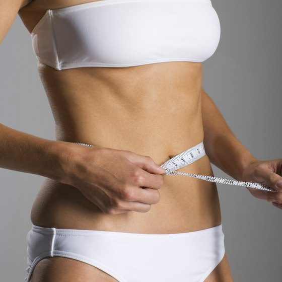 Working out and eating right can help you whittle your waist.