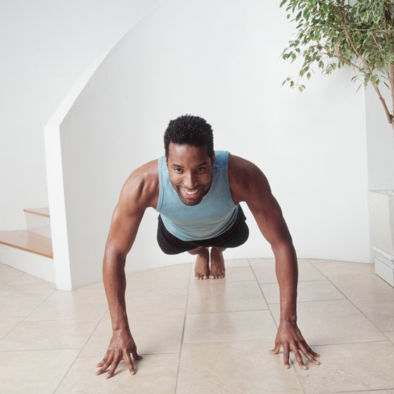 Fingertip pushups can add variety to your workout.