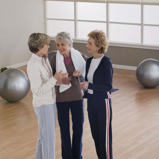 A group exercise session might improve your fitness results.