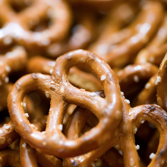 Pretzels contain beneficial iron, but they also come packed with sodium.