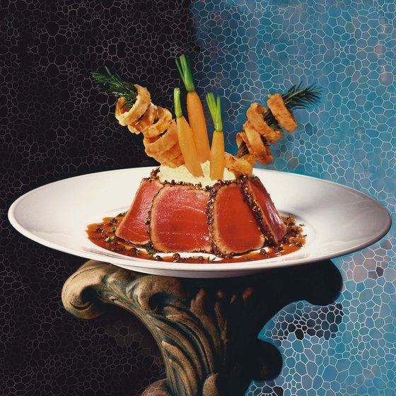 Fresh tuna is a good source of disease fighting omega-3 fatty acids.