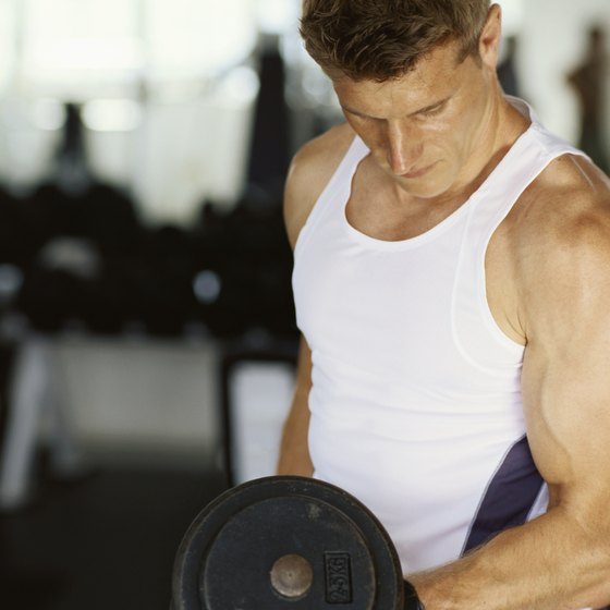 Build thicker, stronger muscles by overloading your muscles with heavy weights.