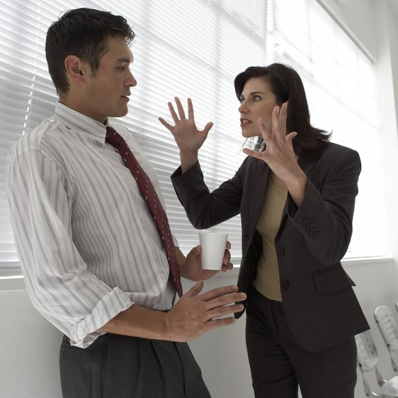 Don't let workplace disagreements mar your reputation.