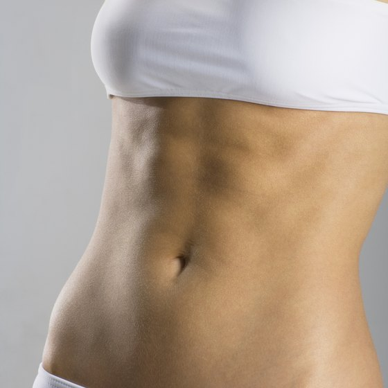 Toning your lower belly helps to improve your posture.
