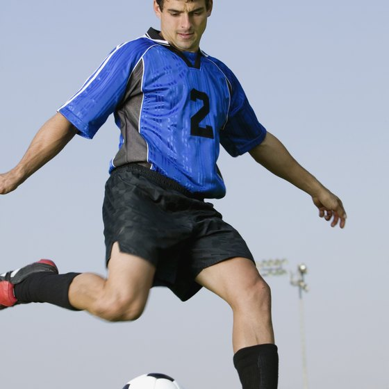 Soccer is an effective way to burn calories and build your endurance.