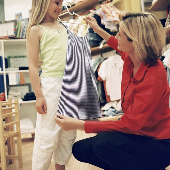 Children's consignment stores offer bargains to consumers.