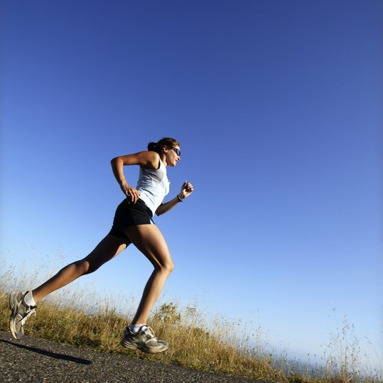 A long, easy run burns many calories from fat.