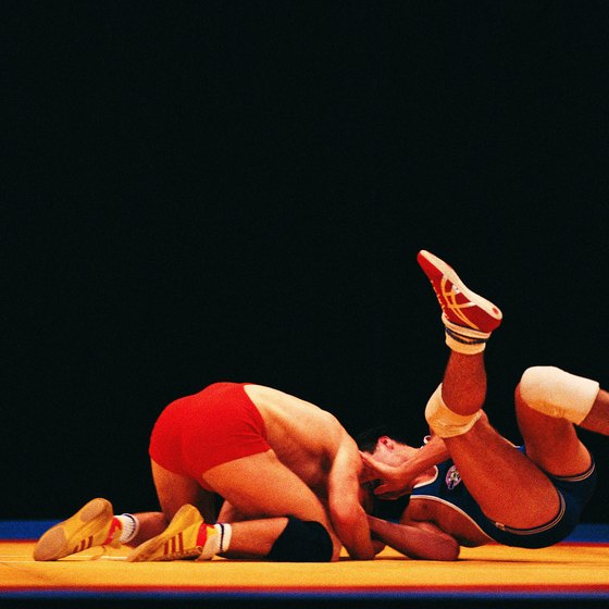 Wrestling helps you burn calories at a moderate rate.
