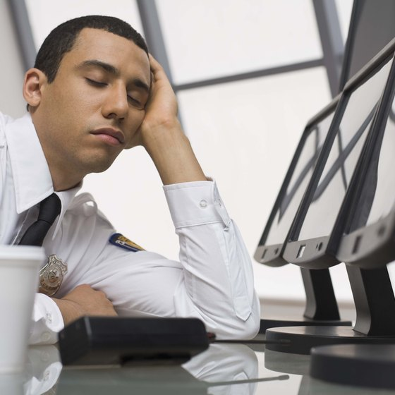 Night shift employees who fall asleep can harm productivity.