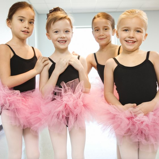 When teaching kids the basics of ballet, aim to keep it fun for all.