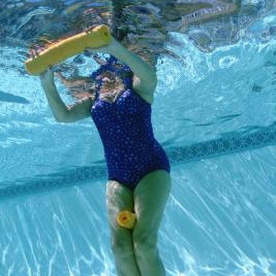 Water Aerobics For Tightening Arms Healthy Living