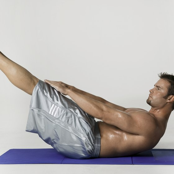 Since standard crunches miss your lower abs, do V-ups instead.