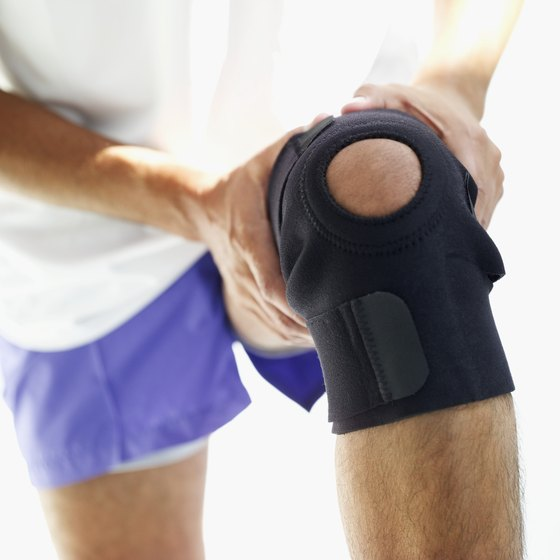 Avoid knee stress by doing low-impact exercises.