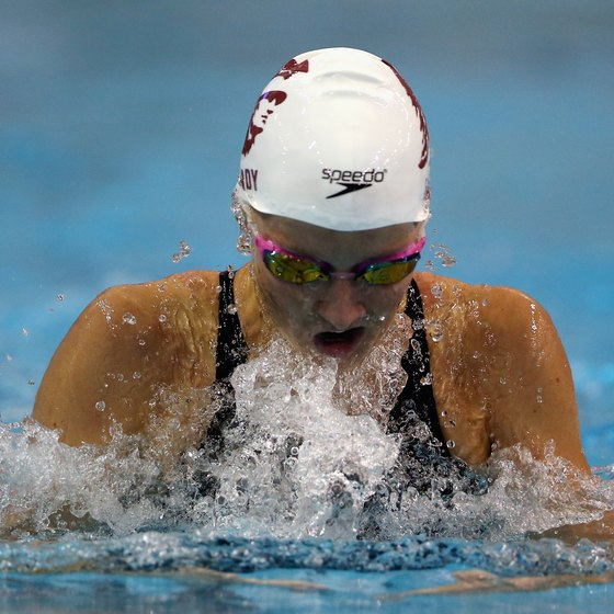 Missy Franklin was the dominant woman swimmer at the 2012 Olympics in London.